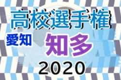 2020年度 第99回全国高校サッカー選手権 愛知県大会 知多地区予選 組み合わせ掲載!8/22,29開催