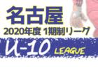 2020年度 名古屋地区U-10サッカーリーグ (愛知)  B/Dブロック結果更新!入力ありがとうございます!11/28,29