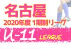 2020年度 東三河地区U-11サッカーリーグ (愛知) 結果速報!情報をお待ちしています!10/24,25