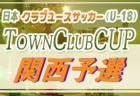 2020年度 関西クラブユース地域リーグ 兼 日本クラブユースサッカー(U-18) Town Club Cup関西予選 7/12開幕!組合せ情報お待ちしています。