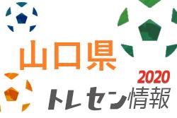 【選考会】2020年度山口県女子U15トレセン 9/26.27開催!