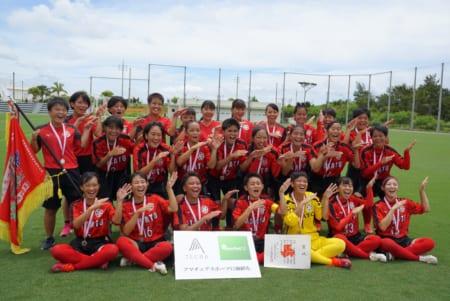 2020第28回沖縄県高等学校総合体育大会サッカー女子 優勝は美里!結果表