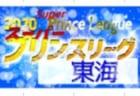 2020年度 高円宮杯 JFA U-18サッカースーパープリンスリーグ東海  第1節 組み合わせ掲載!9/5開幕決定!