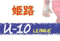 2020年度 第47回姫路市少年サッカー友好リーグU-10(4年生)兵庫 10/24.25結果! 前期日程終了 後期組み合わせ情報募集中です