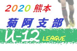 2020年度 JFA U-12リーグ熊本 菊阿支部(菊池・阿蘇)8/2開幕結果募集!次節日程お待ちしています