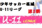 JFA U-12.U-11.U-10安曇サッカーリーグ2020(長野)次回11/15 リーグ戦績表への入力ありがとうございます!