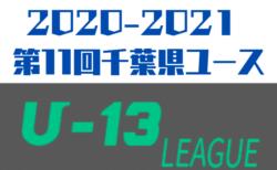 2020-2021 第11回千葉県ユース(U-13)サッカーリーグ  1~3部リーグ表更新!引き続きリーグ表入力へのご協力をお願いします!