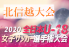 2020年度 第20回山口県U-12女子サッカー新人大会  優勝は下関女子SS!