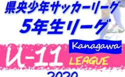 2020年度 県央少年サッカーリーグ 5年生リーグ (神奈川県) 10/18 AB結果更新!次は10/24にA開催!結果入力ありがとうございます!