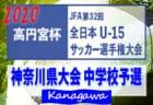 2020年度 ルーキーリーグ東北 U-16 優勝は秋田商業、東北学院!