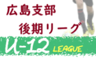 2020 HiFA ユースリーグU-13 広島県 11/21までの結果情報掲載!