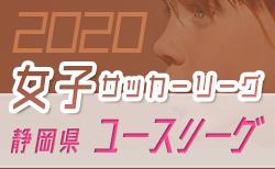 2020年度 第16回静岡県女子サッカーユースリーグ  開催中!情報お待ちしています!