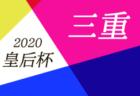2020年度  第99回全国高校サッカー選手権 広島県大会 決勝トーナメント組合せ掲載! 次回10/25