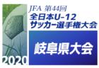 【優勝チームコメント掲載】2020年度JFA第44回全日本U-12 サッカー選手権大会 愛媛県大会 優勝はゼブラキッズ!