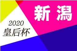 2020皇后杯JFA第42回全日本女子サッカー選手権新潟県大会 8/10.16開催 要項掲載!