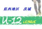 JFAU-12サッカーリーグ2020茨城 県西地区〔U-12〕9/20結果掲載! 次節10/4