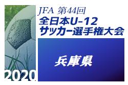 【優勝チームコメント掲載】2020年度 JFA第44回全日本U-12 サッカー選手権兵庫県大会 優勝はヴィッセル!(6年ぶり5回目)