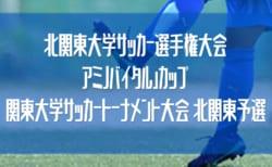 2020年度 北関東大学サッカー選手権「アミノバイタル」カップ 北関東予選 8/2準決勝までの全結果掲載!決勝・3決は8/9開催!
