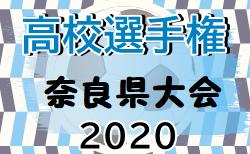 2020年度 第99回全国高校サッカー選手権大会 奈良県大会 10/25結果速報!ベスト8決定!次回11/1開催!