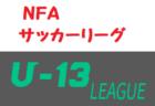 2020年度 NFAサッカーリーグ U-13 (奈良県) 組合せ掲載(判明分)!情報をお待ちしています!