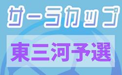 2020年度 第17回 サーラカップ U-10 東三河代表決定戦 (愛知)ASラランジャ、TAHARA FC 、FC豊橋リトルJセレソン・Aの3チームが決勝大会出場決定!