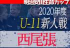 2020年度 2021JA全農杯全国小学生選抜サッカーIN滋賀(U-11チビリンピック) 湖東ブロック予選 県大会出場チーム決定!情報ありがとうございました!