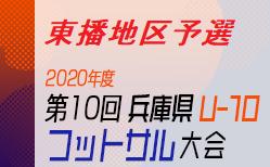 2020年度 第10回 兵庫県U-10 フットサル大会 東播地区予選 優勝はアミザージ神野SC!