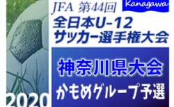 全日本U-12サッカー選手権 神奈川県予選 かもめグループトーナメント戦 9/21までの1・2回戦結果更新!情報ありがとうございます!続報をお待ちしています!