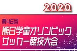 2020年度 第46回熊日学童オリンピックサッカー競技(女子の部)要項掲載!11/3,8 熊本県