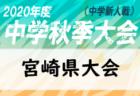 2020年度 第26回全日本U-15フットサル選手権 大阪大会  11/1結果速報!優勝はDREAM FC!