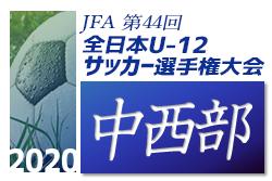 2020年度 JFA第44回全日本少年サッカー大会静岡県大会 中西部支部予選 10/17,18