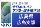 2020年度 フジパンカップ東海ユースU-12サッカー大会  静岡県大会 中西部予選  優勝は高洲南SSS!