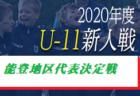 2020年度 ナダスタ能登地区U-11少年サッカー新人大会 石川 優勝はFC湖北