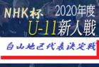 2020年度 第56回山梨県スポーツ少年団甲府地区サッカー大会 全結果掲載!