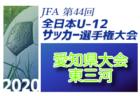 2020年度 JFA第44回全日本U-12選手権大会西部地区予選 (鳥取)県大会出場6チーム決定!