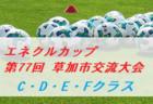 2020年度 市長杯大会(川口市少年サッカー連盟)埼玉 優勝は安行東SS!