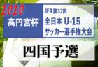 2020年度 ナカジツカップ AIFA 第1回愛知県U-9サッカー大会 知多地区大会 県大会代表4チーム決定!!