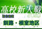 2020年度 第9回東北海道ユース新人(U-17)サッカー大会 十勝地区予選 優勝は帯広北!白樺学園!