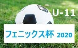 2020年度フェニックス杯U-11大会(宮崎県) 組合せ掲載! 10/3.4開催!