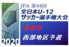 2020年度 第44回 JFA全日本U-12少年サッカー選手権 東三河予選(愛知) 県大会出場7チーム決定!