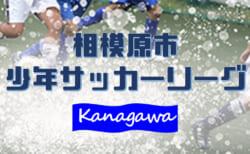 2020年度 相模原市少年サッカーリーグ (神奈川県) 1/11まででリーグ戦終了!最終結果掲載!多くの情報、結果入力やPK情報ありがとうございました!