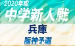 2020年度 阪神中学校新人大会サッカー競技大会 11月開催 情報募集