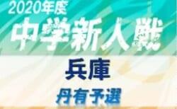 2020年度 丹有中学校サッカー新人大会 優勝は三田学園中学校!