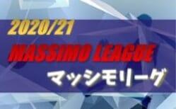2020/21 MASSIMO LEAGUE(マッシモリーグ)関西 2/28までの判明分結果 1試合から情報提供お待ちしています