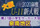 2020.NFC h橋本 U-13 勝緒杯~勝って兜の緒を締めよ~  1/17最終節結果掲載!優勝はGA!