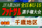 2020年度第32回 全道U-15フットサル選手権大会 空知地区予選(北海道) 優勝は三笠FC U-15!
