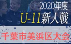 2020年度 第18回千葉市美浜区サッカー大会大会5年生以下の部  日程変更決勝T10/25開催!