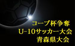 2020年度 コープ杯争奪第11回青森県U-10サッカー大会組合せ掲載!11/14,15開催!