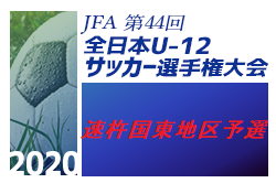 2020年度 JFA第44回全日本U-12 サッカー選手権 速杵国東地区予選 情報お待ちしています。