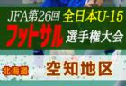 2020年度第32回 全道U-15フットサル選手権大会 千歳地区予選(北海道) 11/14,15結果募集!情報お待ちしています!